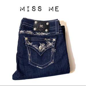Brand New Miss Me Dark wash Bootcut Jeans